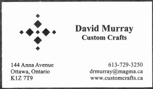 David Murray Woodworking