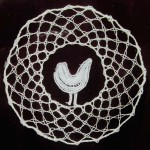 Ottawa bobbin lace - Summer bird