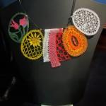 Ottawa bobbin lace - Seasons necklace