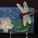 Ottawa bobbin lace - Dragonfly lily