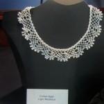 Ottawa bobbin lace - Pearl Necklace