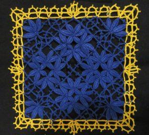 Cluny bleu et jaune